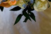 Justine's Wedding! / Ideas and Inspiration for the big day! Fishing-themed wedding featuring orange, blue, and green.