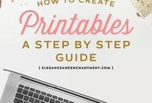 I Heart Printables / Very useful and creative printables for boosting the organising freak inside and helping with keeping things clear, creative and effective around all life aspects.