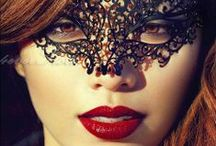 """Magical Masquerade / """"Masquerade! Every face a different shade, Masquerade, Look around, there's another mask behind you"""" -All photos re-pinned from others & web searches. Images may be subject to copyright."""