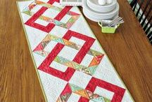 Table Runners or Mug Mats / Quilted table runners / by Gayle White