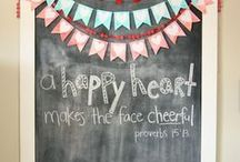 Chalkboard Inspiration / by lauravegas