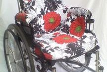 rolstoel / by WolTroll Needle Felting