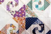 Snail Trail quilts