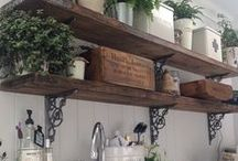 Rustic Shelving / Rustic Shelving for your home.  / by Yester Home | Traditional Ironmongery