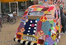 yarn bombing / by WolTroll Needle Felting
