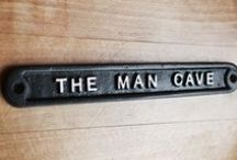 Man Cave Ideas / Manspiration for The Man Cave / by Yester Home | Traditional Ironmongery
