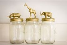 Gold Finger! Unexpected Uses for Gold Spraypaint / Countless things we find in our everyday lives can be transformed to something fancy.  All you need is gold spraypaint and a little courage...