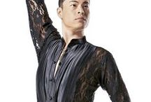 Men's Ballroom Clothing / Both competitive & practice wear. -All photos re-pinned from others & web searches. Images may be subject to copyright.