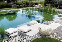 Natural pools + gardens