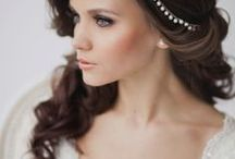 Wedding Day Hair / Hair styles that will look picture perfect for not only your first dance but your entire wedding day. -All photos re-pinned from others & web searches. Images may be subject to copyright.
