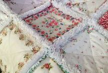 Rag Quilts / Making quilts
