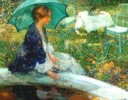 Impressionists & Post-Impressionists / Impressionist paintings