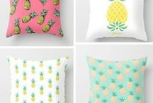 Pillow Talk / Pillows and DIY Pillow designs to make your home warm and inviting!
