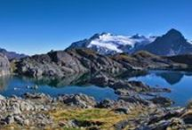 Mt Aspiring National Park / The stunning Mt Aspiring National Park in the Lake Wanaka region is one of the World's Heritage areas and it's easy to see why!