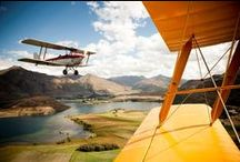 Airborne Activities / There's so many ways to see the Lake Wanaka region, but one of the very best is from the never ending blue skies! Take a scenic flight, jump from a plane, float down from the mountains - however you decide to soar, Lake Wanaka has it all!