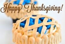 Let's Give Thanks...and party!  / by Trophy Cupcakes & Party