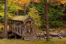 ~Covered Bridges / by Bonnie Lucente
