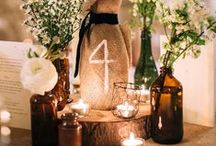 Wedding Theme: Rustic Elegance / If you have fallen in love with anything rustic, these are some great ideas of what Cross Creek Ranch can do for you!