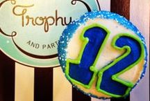 Let's Party Seahawks!  / Everything 12th Man for the best Super Bowl Party Ever!  / by Trophy Cupcakes