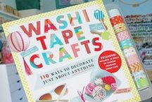 Crafts: Tape - Washi and Duct Tape - Duck Brand - Scotch - 3M / All things made with Tape, be it washi tape, duck tape, duct tape, tape by 3m, masking tapes...all things tape!!!