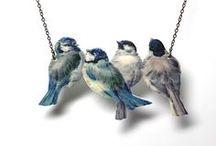Bird Jewelry / Fabulous handmade jewelry creations for bird lovers