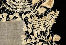 lace / It is difficult to see why lace should be so expensive; it is mostly holes. - Mary Wilson Little