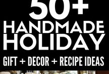 Handmade Holiday Projects + DIY ideas / Handmade holiday gift ideas, holiday projects, and projects from 6 years of Handmade Holidays gift idea blog hops