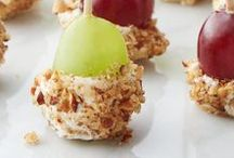Bite-Size Appetizers / All your favorite foods packed into mini, bite-size snacks to share!
