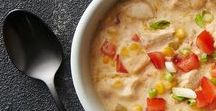 Hearty Soups: Large Family Meals / Fall is here and it's time to cook up some hearty soups for dinner.