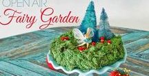 DIY Fairy Garden LOVE / How to make DIY fairy gardens plus LOADS of DIY fairy garden inspiration. I've collected my favorite tutorials here for all kinds of fairy gardens with living plants and that don't have plants. #FairyGardens #DIYFairyGarden