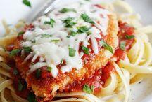 Fav foods--ziti/chicken parm--spaghetti--etc / Especially Italian Foods / by Donna Kollar