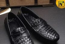 Men Leather Driving Shoes / Comfortable, fashionable leather driving shoes for men.