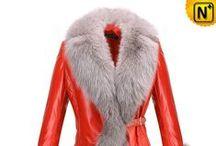 Women Sheepskin Leather Coats & Jackets / Pretty, fashionable, warm sheepskin leather coats or jackets for women