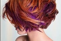 Hair Ideas / Hair color - Hair style / by Donna Kollar