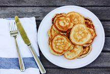 Kitchen- pancakes and cinnamon rolls / Pancakes, cinnamon rolls. Breakfasty things / by Katie Lake