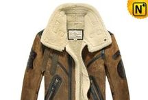 Sheepskin Jackets for Men / Fashionable, stylish sheepskin jackets, coats for men.