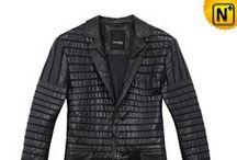 Men Leather Blazer Jackets / Designer blazer leather jackets for men.