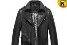 Leather Trench Coats for Men / Best quality, most fashionable leather trench coats for men.