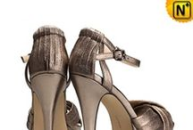 Women Leather Sandals Shoes / Cool, fashionable leather sandals shoes for women.