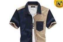 Men Denim Shirts / Designer, enzyme washed, high quality denim shirts for men.