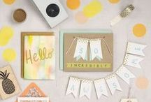 Crafting / Check out our holiday craft ideas, local workshops and other projects.    / by Paper Source