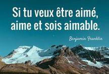 Citations et proverbes inspirants / by Thibaut Parent