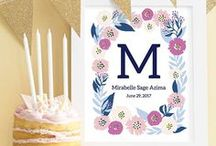 Beautiful Baby Shower / Get inspired for your baby shower here!