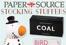 Stocking Stuffers / Small gifts with big gift appeal  / by Paper Source