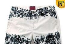 Mens Floral Print Shorts / Designer printed shorts, colorful floral shorts for men