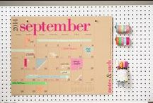 Back To School- Calendars / Plan for the year ahead with Paper Source calendars and planners. (Planners on different board.)  / by Paper Source