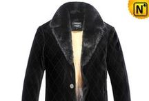 Mens Mink Fur Coats / Luxurious mink fur coats for men, good combination of warmth and style.
