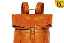 Mens Leather Backpacks / Designer travel backpacks for men with large volume and good style.