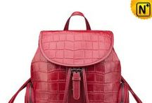 Womens Leather Backpacks / Designer leather backpacks for ladies, convenient and comfortable for weekends and holidays.
