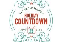 2015 Holiday Countdown / Get inspired everyday by our perfect presents - curated by the team at Paper Source just for you. / by Paper Source